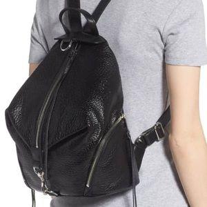Rebecca Minkoff Leather Julian Backpack As Is